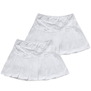 TopTie 2-Pack Women Team Skort, Tennis Athletic Skirt Skort, Pockets Sports Skort