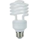 Sunlite 00621-SU SMS23F/50K 23 Watt Super Mini Spiral Energy Saving Light Bulb, Medium Base, Super White
