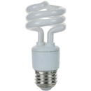 Sunlite 00643-SU SMS11/65K 11 Watt Super Mini Spiral, Medium Base, Daylight