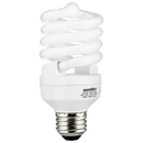 Sunlite 00832-SU SMS23/27K Fluorescent 23W (100W Equivalent) CFL Super Mini Spiral Light Bulbs, 2700K Warm White Light, Medium (E26) Base