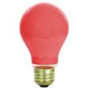 Sunlite 01130-SU 60A/R 60 Watt A19 Colored, Medium Base, Ceramic Red