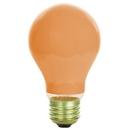 Sunlite 01165-SU 40A/O 40 Watt A19 Colored, Medium Base, Ceramic Orange