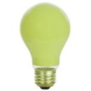 Sunlite 01170-SU 25A/Y 25 Watt A19 Colored, Medium Base, Ceramic Yellow