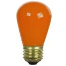 Sunlite 01200-SU 11S14/O 11 Watt S14 Colored Sign, Medium Base, Ceramic Orange