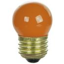 Sunlite 01235-SU 7.5S11/O 7.5 Watt S11 Colored Indicator, Medium Base, Ceramic Orange