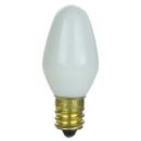 Sunlite 01285-SU 7C7/WH/25PK 7 Watt C7 Night Light, Candelabra Base, White