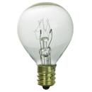 Sunlite 01610-SU 10G11/CL 10 Watt G11 Globe, Candelabra Base, Clear