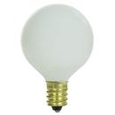 Sunlite 01615-SU 10G11/WH 10 Watt G11 Globe, Candelabra Base, White