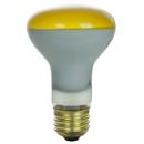 Sunlite 01858-SU 50R20/FL/Y 50 Watt R20 Colored Reflector, Medium Base, Yellow