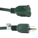 Sunlite 04201-SU EX40/HD/16/G EX40-16/3/HD/G Heavy Duty Green Extension Cord