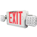 Sunlite 04352-SU EXIT/SU/1OR2F/R/W/COMBO/2H Two Headed Exit Light Combo