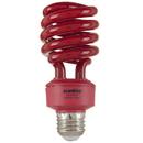 Sunlite 05513-SU SL24/R 24 Watt Colored Spiral, Medium Base, Red