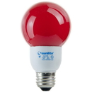 Sunlite 05670-SU SLG9/R 9 Watt Colored Globe, Medium Base, Red