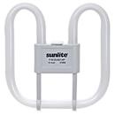 Sunlite 05730-SU F21/2D/827/4P 21 Watt 2D Lamp, GR10Q Base, Warm White