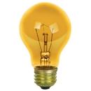 Sunlite 17015-SU 25A/TB/Y/CD2 25 Watt A19 Colored, Medium Base, Transparent Yellow