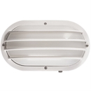 Sunlite 47206-SU DOD/EBL/WH/FR/MED Decorative Outdoor Eurostyle Oblong Linear Fixture, White Finish, Frosted Lens