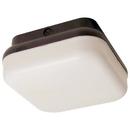 Sunlite 48247-SU LFX/DOD/PTS/BL/WH/E/14W/40K LFX/DOD/PTS/BL/WH/E/120V/40K LED 14W Square (Black Body With White Lens) Decorative Protek Outdoor Light Fixtures