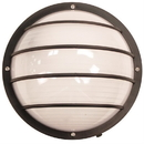 Sunlite 49004-SU Decorative Outdoor Led Eurostyle Linear Fixture, Black Finish, Frosted Lens