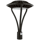 Sunlite 49180-SU LFX/PTL/60W/50K LED Circular Pole-Top Commercial Outdoor Fixture, Dimmable, Frosted Bronze Finish, 6750 Lumens, 120-277 V, 60 Watt, 50K - Super White