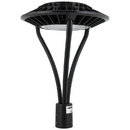 Sunlite 49181-SU LFX/PTL/80W/50K LED Circular Pole-Top Commercial Outdoor Fixture, Dimmable, Frosted Bronze Finish, 8800 Lumens, 120-277 V, 80 Watt, 50K - Super White