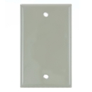 Sunlite 50765-SU E401/I 1 Gang Blank Switch and Receptacle Plate, Ivory