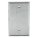 Sunlite 50768-SU E401/S 1 Gang Blank Switch and Receptacle Plate, Steel