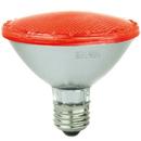 Sunlite 80023-SU PAR30/LED/3W/R LED PAR30 Colored Reflector 3W Light Bulb Medium (E26) Base, Red