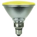 Sunlite 80045-SU PAR38/LED/4W/Y LED PAR38 Colored Reflector 4W Light Bulb Medium (E26) Base, Yellow
