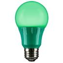 Sunlite 80146-SU A19/3W/G/LED LED A Type Colored 3W Light Bulb Medium (E26) Base, Green