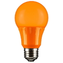 Sunlite 80147-SU A19/3W/O/LED LED A Type Colored 3W Light Bulb Medium (E26) Base, Orange