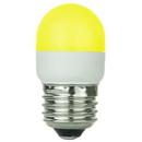 Sunlite 80255-SU T10/LED/1W/Y T10 Tubular Indicator, Medium Base Light Bulb, Yellow