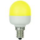 Sunlite 80272-SU T10/LED/0.5W/C/Y T10 Tubular Indicator, Candelabra Base Light Bulb, Yellow