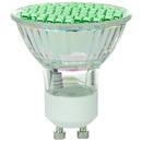 Sunlite 80327-SU MR16/LED/2.8W/GU10/G LED MR16 Colored Mini Reflector 2.8W (20W Halogen Equivalent) Light Bulb (GU10) Base, Green