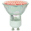 Sunlite 80328-SU MR16/LED/2.8W/GU10/R LED MR16 Colored Mini Reflector 2.8W (20W Halogen Equivalent) Light Bulb (GU10) Base, Red