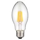 Sunlite 80616-SU LU/LED/FS/6W/D/CL/22K LED Vintage 6W Light Bulb Medium (E26) Base, Warm White