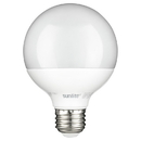Sunlite 80672-SU G25/LED/7W/D/FR/ES/27K LED G25 Globe Light Bulb, 27K - Warm White, 7 Watts (60W Equivalent), Medium (E26) Base, Dimmable, Energy Star Certified, Frost 1 Pack