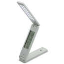 Sunlite 80689-SU CAL/LED/TL LED Foldable Table Lamp with Calendar, Rechargeable, Touch Dimmer