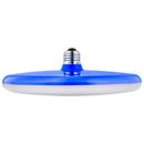 Sunlite 80766-SU UFO/LED/15W/30K/BLUE LED 15W (75W Equivalent) Blue UFO Pendant Fixture Light Bulbs, Medium (E26) Base, 3000K Warm White