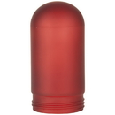 Sunlite 88152-SU RPG/LFX/VT/100/R Red Frosted VT100\VTA100 Replacement Weather Tight Fixture Glass Globe Bulb