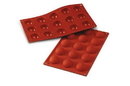 Silikomart 20.005.00.0060 Sf 005 Half-Spheres - Silicone Mould 40 H 20 Mm