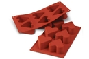 Silikomart 20.036.00.0065 Sf 036 Heart - Silicone Mould 65 H 40 Mm