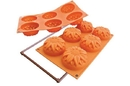 Silikomart 20.076.64.0063 Sf 076 Sunflower - Silicone Mould 76 H 40 Mm