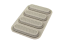Silikomart 21.002.13.0065 Mini Baguette Bread - Silicone Mould N.4 Baguette 170X55 H20 Mm