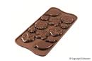 Silikomart 22.144.77.0065 Scg44 - Silicone Mould Choco Garden