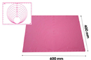 Silikomart 23.013.19.0069 Precision Mat 600X400 - Silicone Mat With Diameter And Measures