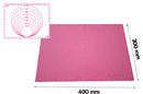 Silikomart 23.014.19.0069 Precision Mat 400X300 - Silicone Mat With Diameter And Measures