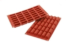 Silikomart 26.129.00.0065 Sf 129 Mini Buche - Silicone Mould 44X18 H 20 Mm