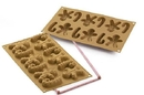 Silikomart 26.167.63.0063 Sf 167 Mr. Zenzy - Silicone Mould 70X58 H 16, 5 Mm