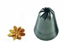 Silikomart 43.343.99.0000 Br330 - Flower Small Stainless Steel Tips For Piping Bag