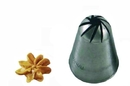 Silikomart 43.345.99.0000 Br332 - Flower Large Stainless Steel Tips For Piping Bag